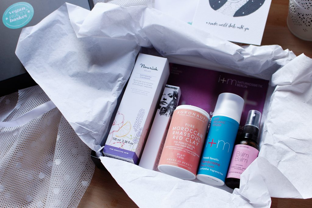 Vegan Beauty Basket Januar 2017