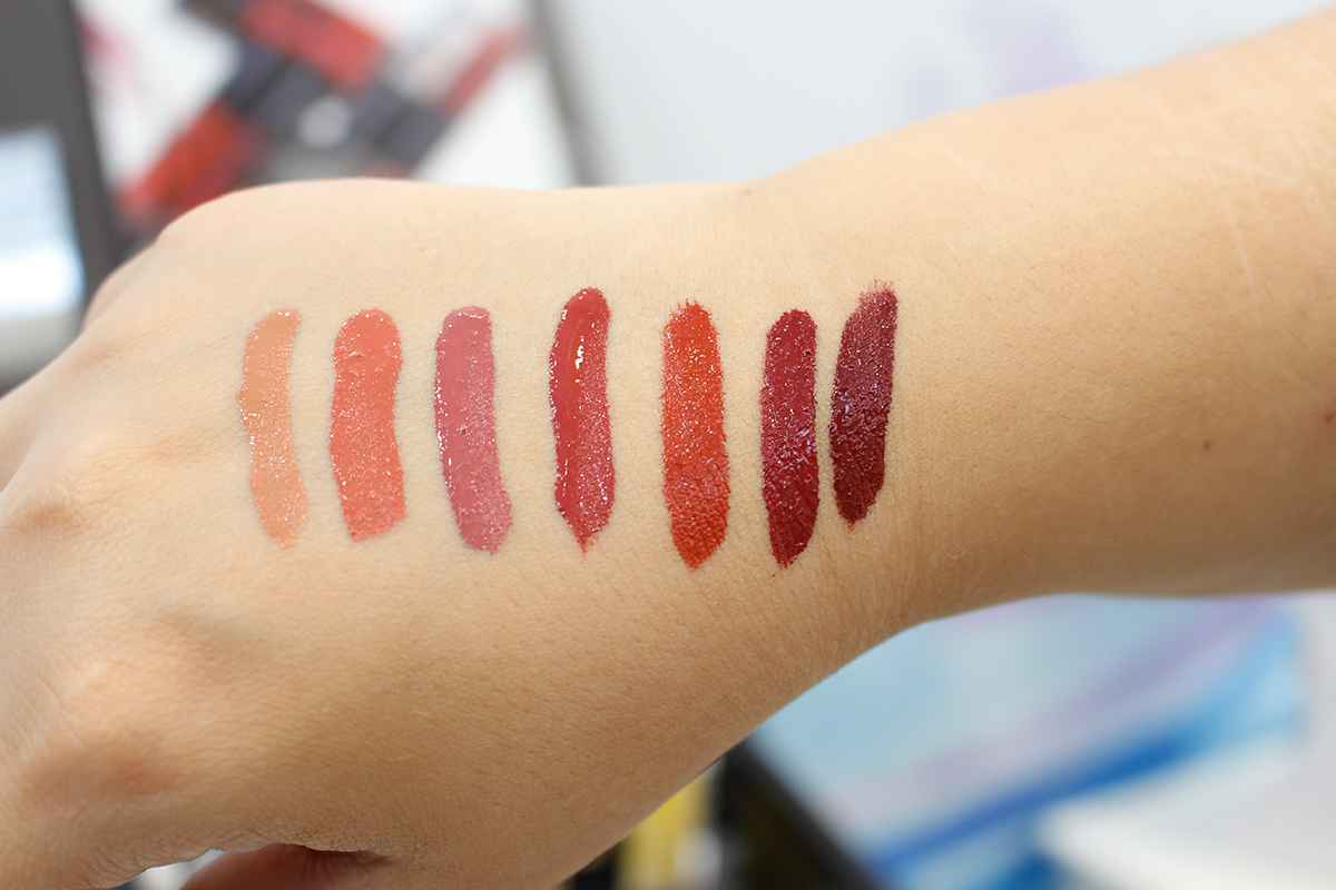 Vivaness 2018 Purobio Matte Lip Tint Swatches Review Erfahrungen