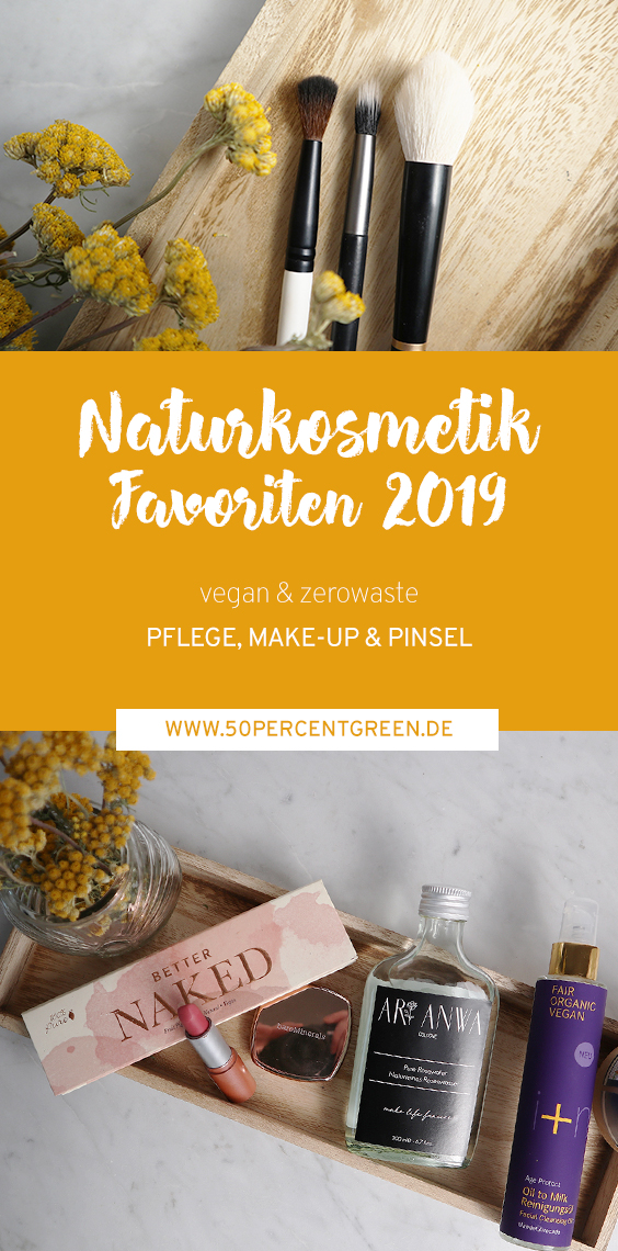 Meine #Naturkosmetik-Favoriten 2019: #vegan und #zerowaste Pflege & Make Up