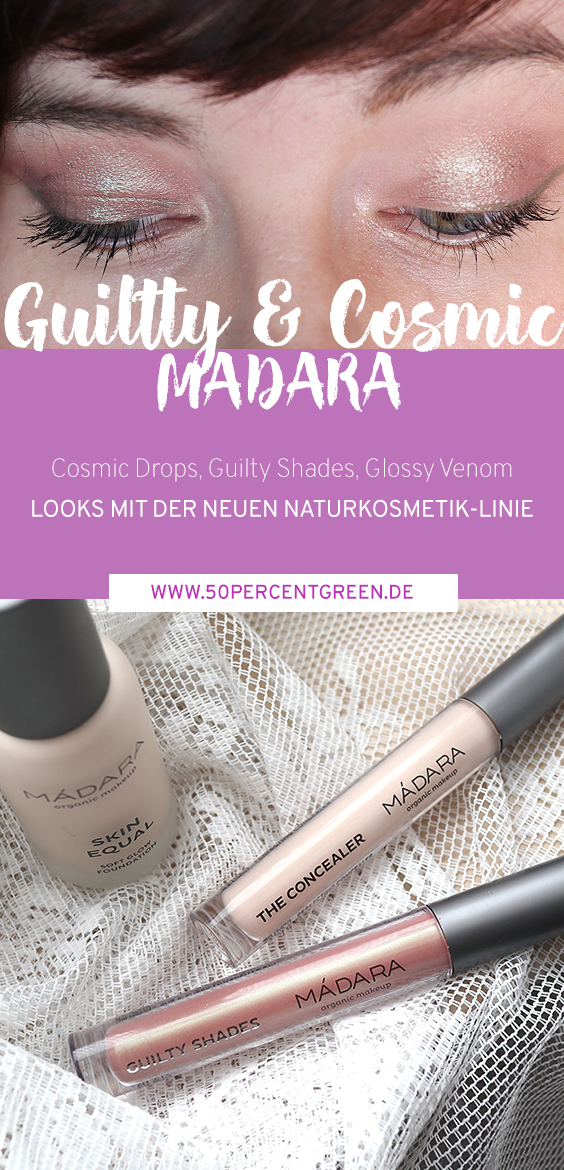 Make Up Neuheiten in der Naturkosmetik: Swatches & Looks mit Madara und GRN Shades of Nature.